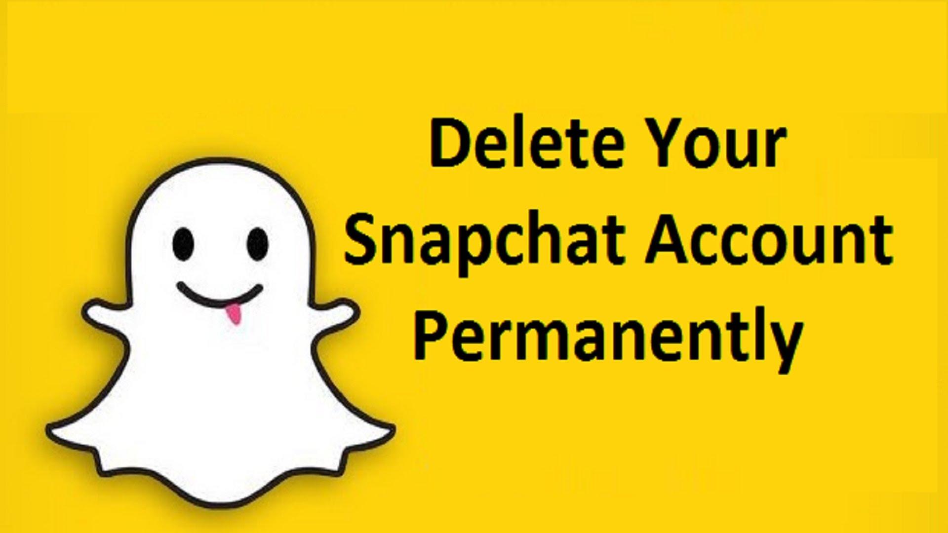 snapchat account Ko Delete Kaise Kare