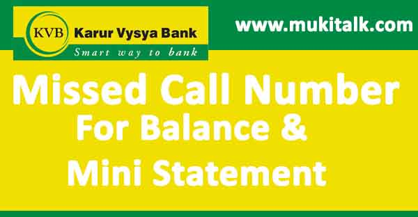 KVB-Karur-Vysya-Bank-Balance-chek-by-missed-call-number