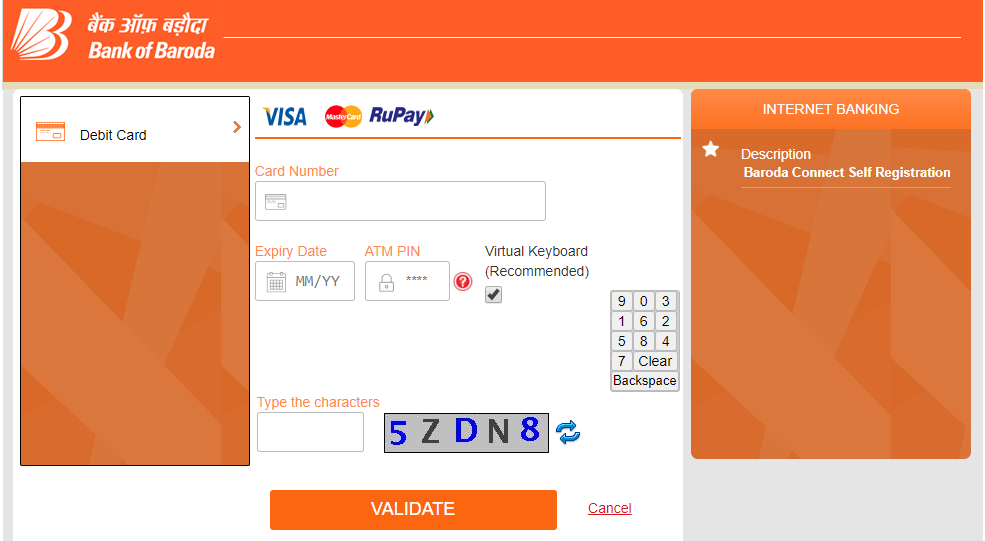 bank of baroda online account check