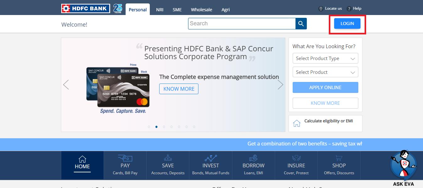 HDFC Net Banking Me Kaise Registration kare